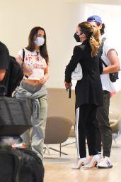 Kate Beckinsale at JFK Airport in New York 07/23/2021