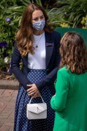 Kate Middleton - Wimbledon Championships Tennis Tournament 07/02/2021