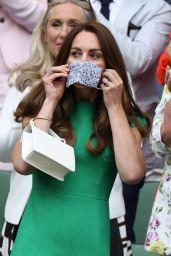 Kate Middleton - Wimbledon Tennis Championships in London 07/10/2021