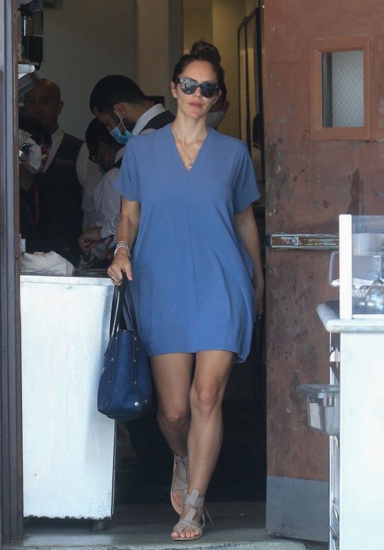 Katharine McPhee at Il Pastaio in Beverly Hills 07/16/2021