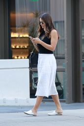 Katharine McPhee at Mr. Chow in Beverly Hills 07/20/2021