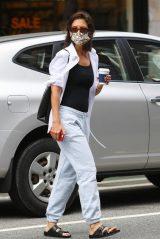 Katie Holmes in Sweatpants - New York 07/28/2021