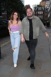 Katie McGlynn - Night Out at Temper in Soho, London 07/03/2021