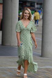 Katie Piper at Media City in Salford 07/21/2021