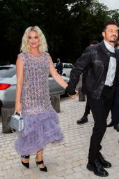 Katy Perry and Orlando Bloom – Louis Vuitton Fragance Dinner at La fondation Louis Vuitton in Paris 07/05/2021