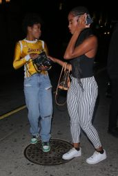 Keke Palmer - Winnie Harlow's PrettyLittleThing Launch Party in Hollywood 07/14/2021