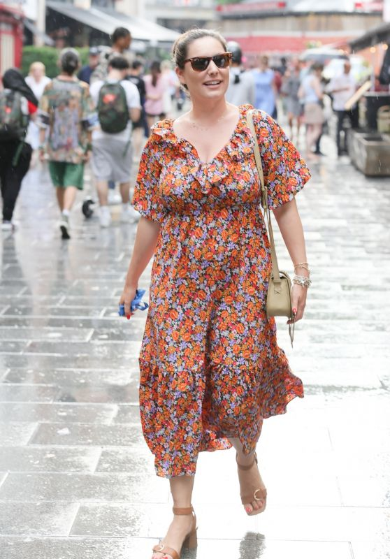 Kelly Brook - Out in London 07/20/2021