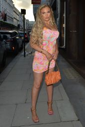 Kelsey Stratford at MKNY House in Mayfair, London 07/04/2021