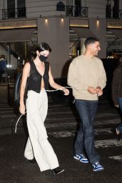 Kendall Jenner - Dinand par Ferdi Club in Paris 06/29/2021