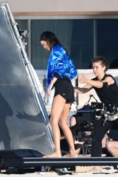 Kendall Jenner - Photoshoot in St Tropez  07/02/2021