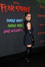 "Kiana Madeira - ""Fear Street Part One: 1994"" Premiere in Los Angeles"