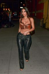 Kim Kardashian - Heads Out to Dinner in New York 07/15/2021