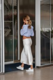 Kimberley Garner at the Martinez Hotel in Cannes 07/12/2021