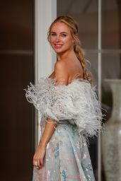 Kimberley Garner - Leaving the Martinez Hotel in Cannes 07/12/2021