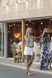 Kimberley Garner - Out in Saint Tropez 07/22/2021