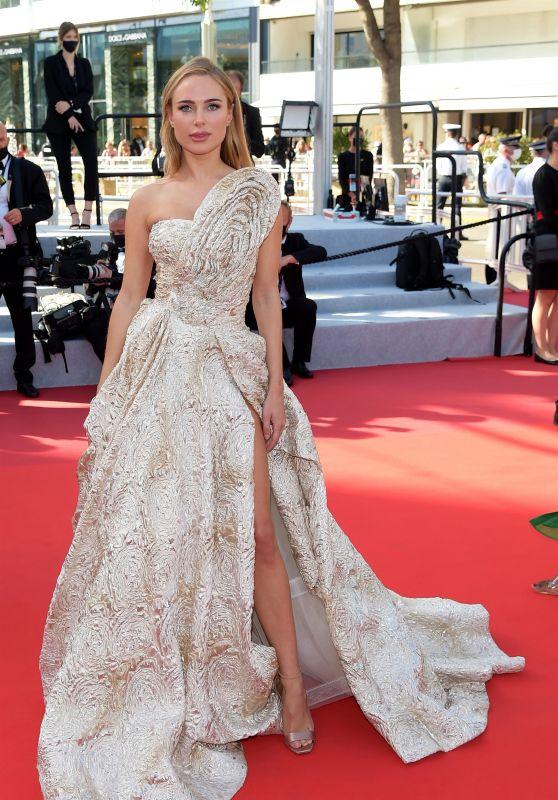 "Kimberley Garner -  ""Three Floors (Tre Piani)"" Red Carpet at the 74th Cannes Film Festival"