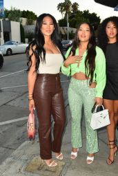 Kimora Lee Simmons and Ming Lee Simmons - Out in Los Angeles 07/20/2021