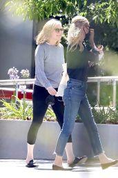 Kirsten Dunst at Sunset Gower Studios in LA 07/30/2021