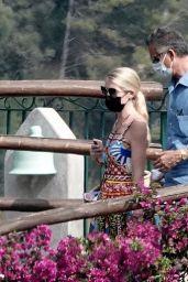 Kitty Spencer and Michael Lewis - Amalfi Coast 07/29/2021