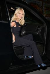 """Kristin Chenoweth - Arriving to """"Live With Kelly and Ryan"""" TV Show in NY 07/12/2021"""