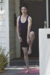 Krysten Ritter - Practicing Some Yoga in LA 07/05/2021