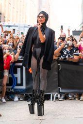 Lady Gaga is Stylish - New York City 07/28/2021