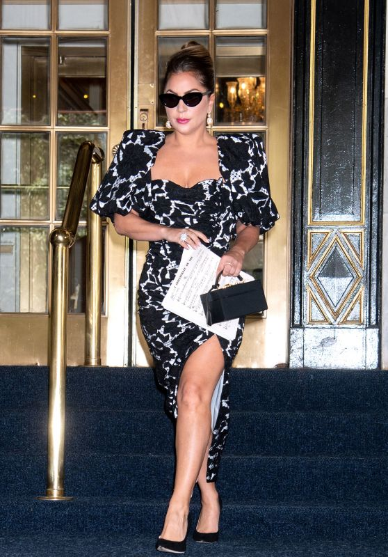 Lady Gaga  - Plaza Hotel in NY 06/30/2021