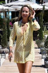 Lady Victoria Hervey - Annex Beach Cannes 07/14/2021