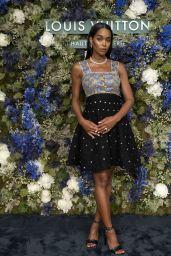 Laura Harrier – Louis Vuitton: Talent & Influencer Facebook Dinner in Monte Carlo 07/01/2021