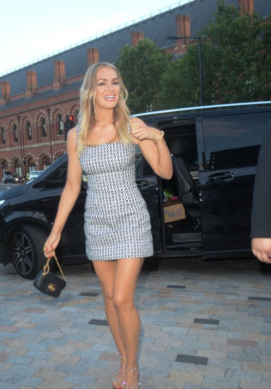 Laura Woods - Arrives at DAZN X Matchroom Launch Party in London 07/27/2021