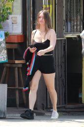 Lauren Parsekian - Out in Los Feliz 07/16/2021