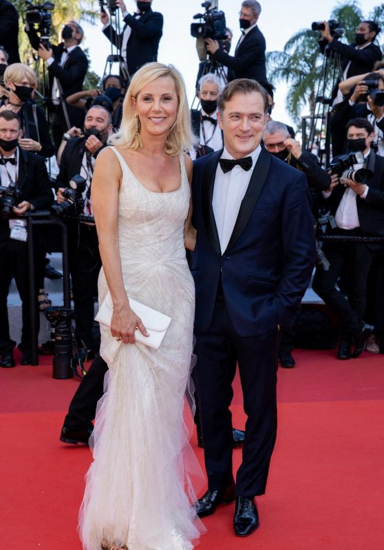 "Laurence Ferrari – ""Benedetta"" Premiere at the 74th Cannes Film Festival"