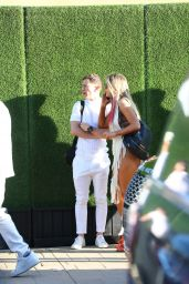Lele Pons With Boyfriend Guaynaa - 4th of July Event at Bootsy Bellows in West Hollywood 07/04/2021