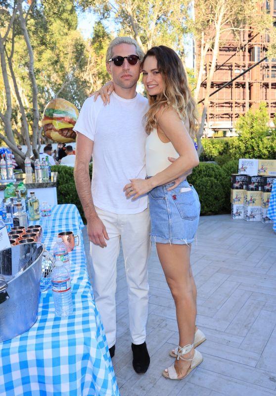 Lily James – Rita Ora's 4th of July Party in LA 07/04/2021