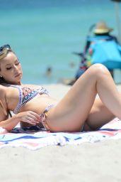 Lisa Opie in a Bikini - Miami 07/08/2021