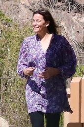Liv Tyler at a Playground in Malibu 07/27/2021