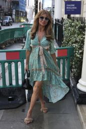 Lizzie Cundy at The Arts Club in London 07/06/2021