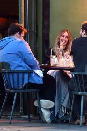 Louise Redknapp - Pizza East Portobello Restaurant in London