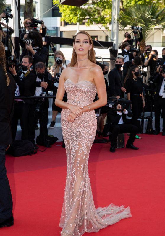 "Maeva Coucke – ""De Son Vivant (Peaceful)"" Red Carpet at the 74th Cannes Film Festival"