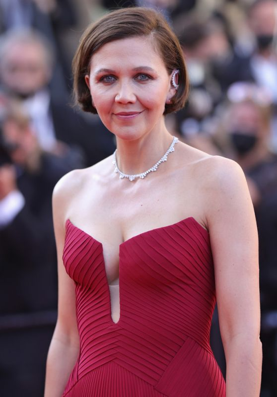 """Maggie Gyllenhaal - """"Benedetta"""" Premiere at the 74th Cannes Film Festival"""