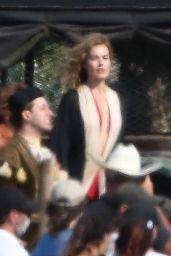 """Margot Robbie - """"Babylon"""" Set in Los Angeles 07/13/2021"""