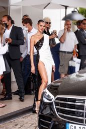 Mari Fonseca at the Martinez Hotel in Cannes 07/16/2021