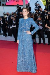 """Marion Cotillard - """"De Son Vivant (Peaceful)"""" Red Carpet at the 74th Cannes Film Festival"""