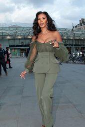 Maya Jama – Dazn x Matchroom VIP Launch Event in London 07/27/2021