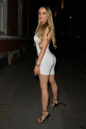 Megan Clark - Out in London 07/19/2021