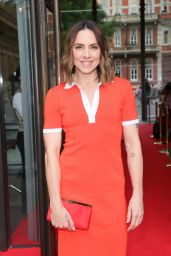 Melanie Chisholm in a Tight Orange Dress - London 07/21/2021