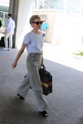 Melanie Laurent - Arriving at Nice Airport 07/05/2021