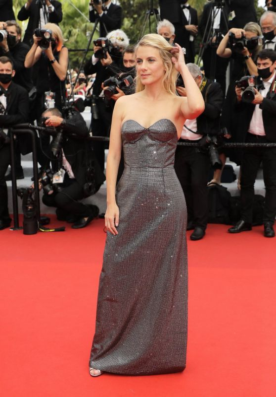 """Melanie Laurent - """"The French Dispatch"""" Premiere at the 74th Cannes Film Festival"""