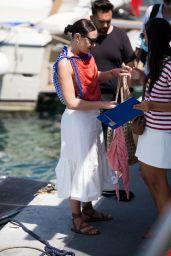 Mia Moretti - Arriving in Capri 07/30/2021