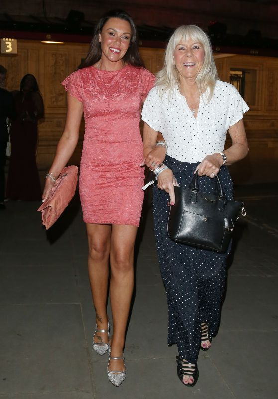 """Michelle Heaton - Leaving The """"Best of the West End"""" Concert in London 07/21/2021"""